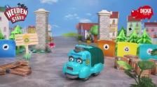Helden der Stadt Spielzeug - Manni Müll Fahrzeug mit Licht und Sound