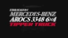 1:14 RC MB Arocs 3348 Hinterkipper 3Achs