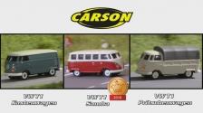 1:87 CARSON VW T1 (500504117, 500504118, 500504119)