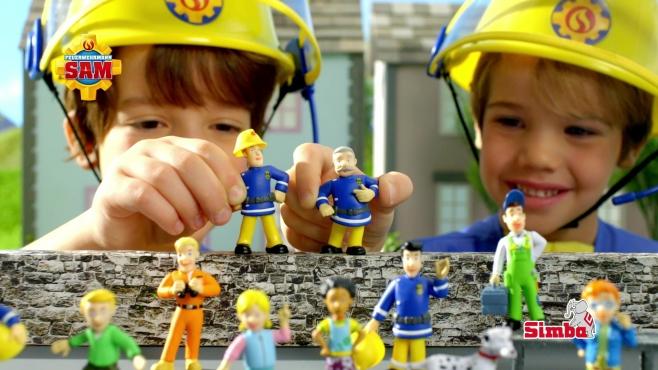 Feuerwehrmann Sam Sammelfiguren Simba Toys Video Simba Dickie Com