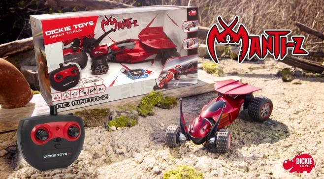 Dickie Toys 201119139 Mantiz RC-Fahrzeug mit Schlängelfunktion, Ferngesteuertes