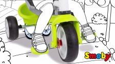 Anleitung: Pedalfreilauf bei Smoby Dreirädern