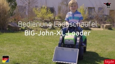 BIG-John-XL-Loader Bedienung Ladeschaufel