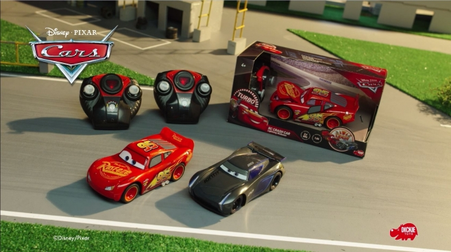 RC Crash Cars Lightning McQueen & Jackson Storm TV-Spot von Dickie Toys
