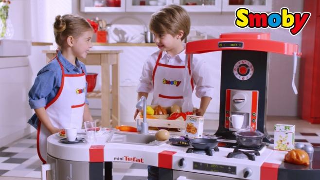 Smoby Friends Sommerküche : Kochen wie die großen mit der tefal french touch bubble küche
