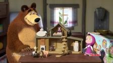 Mascha und der Bär - Großes Bärenhaus
