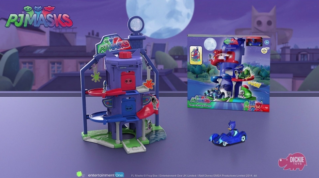 PJ Masks Team Headquarter