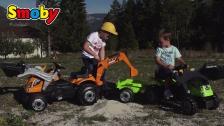 Großer Traktorspaß für kleine Baumeister: Builder Max und Farmer XL Loader
