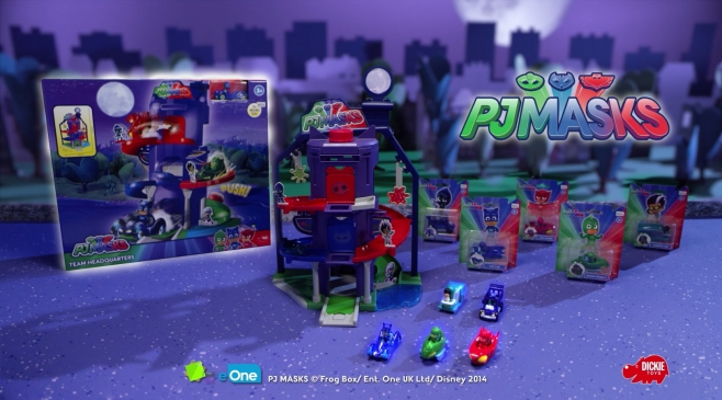 PJ Masks Team Headquarters von Dickie Toys