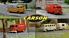1:87 CARSON VW T1 (500504120, 500504122, 500504123, 500504124)