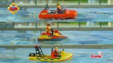 Feuerwehrmann Sam Wasserfahrzeuge