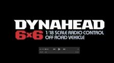 1:18 RC Dynahead 6x6 (G6-01TR)