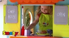 Tolles Spiel-Restaurant für kleine Chef-Köche