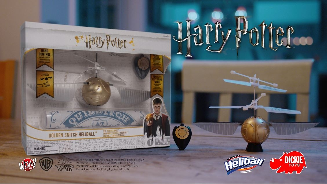 Harry Potter Goldener Schnatz Heliball