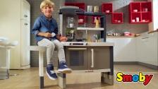 Tefal Evo: Mitwachsende Design-Spielküche mit höhenverstellbarer Arbeitsplatte