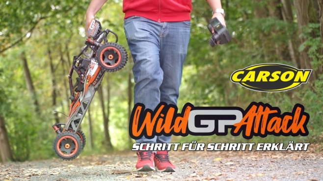 1:5 Wild GP Attack 2.4G RTR getting started