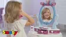 Zauberhafter Frisiersalon und Teewagen für kleine Fans von Die Eiskönigin