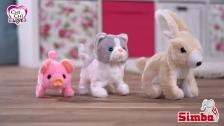 ChiChi LOVE Little Cat, Mini Pig und Rabbit