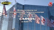 Spielwarenmesse CARSON Rundgang 2020