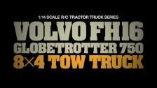 TAMIYA 1:14 RC Volvo FH16 Abschlepper 8x4