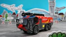 Kleine Flughafenfeuerwehr von Dickie Toys