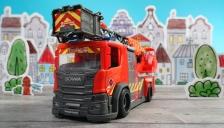 Großes Scania Feuerwehrauto von Dickie Toys