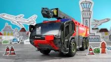 Große Flughafenfeuerwehr von Dickie Toys