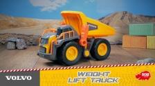 Großer Volvo Muldenkipper von Dickie Toys