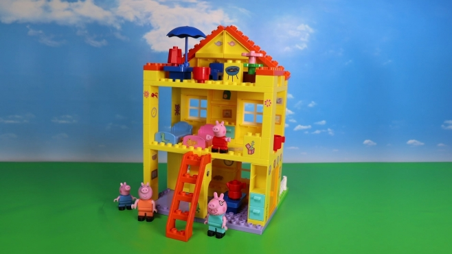 BIG-Bloxx Peppa Pig Peppa's House