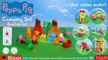 BIG-Bloxx Peppa Pig Camping Set