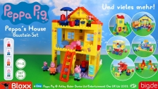 BIG-Bloxx Peppa Pig Peppa's House TRAILER