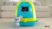 Smoby Katzenhaus und Tierarztkoffer für Katzenfans
