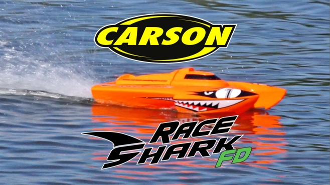 Race Shark FD 2.4G 100% RTR orange (500108034)