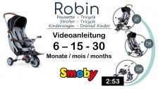 Video Konfiguration&Features Dreirad-Buggy: Smoby faltbares Dreirad Robin