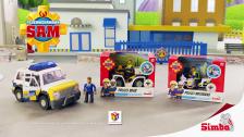 Polizeifahrzeuge aus Feuerwehrmann Sam TV-Spot