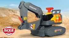 Dickie Toys x Volvo CE | Bagger mit Gewichtserkennung
