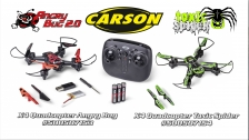 Carson Quadcopter Angry Bug 2.0 & Toxic Spider (500507153 & 500507154)