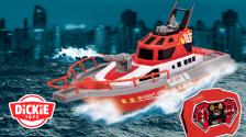 Feuerwehrboot mit Fernsteuerung von Dickie Toys