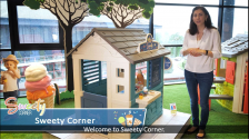 Product video: 810718 Smoby Sweety Corner Playhouse (Sweety Corner EN V02)
