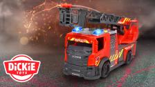 Dickie Toys x Rosenbauer | Feuerwehrdrehleiter
