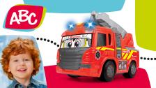 Motorisiertes Feuerwehrauto für Kleinkinder von ABC