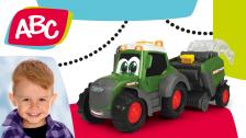 Traktor mit Heuballenpresse für Kleinkinder von ABC