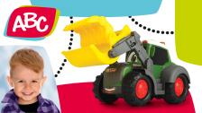Forsttraktor mit Kralle für Kleinkinder von ABC