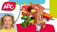 Bauernhofspielset für Kleinkinder von ABC