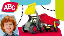 Bauernhoftraktor mit Hänger für Kleinkinder von ABC