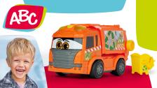 """Motorisiertes Müllfahrzeug """"Manni"""" von ABC"""