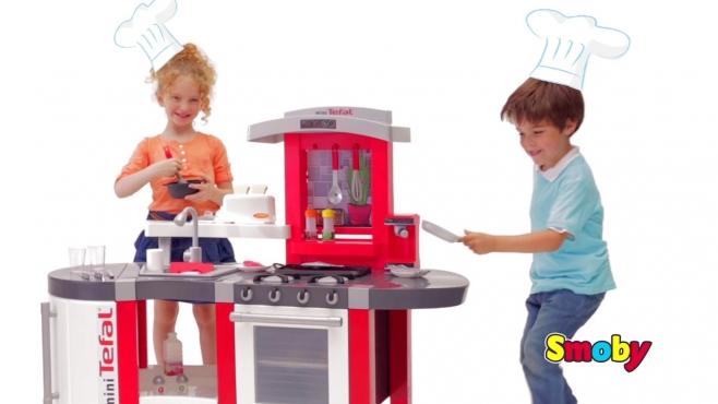 Sommerküche Smoby : Tefal super chef küche smoby video simba dickie