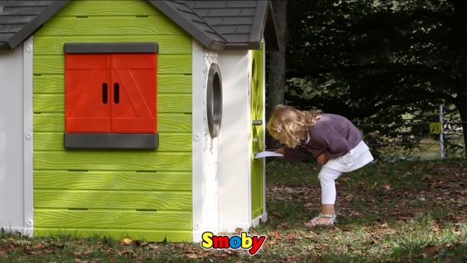 Naturhaus Mit Sommerküche Smoby : Mein haus spielhaus von smoby smoby video.simba dickie.com