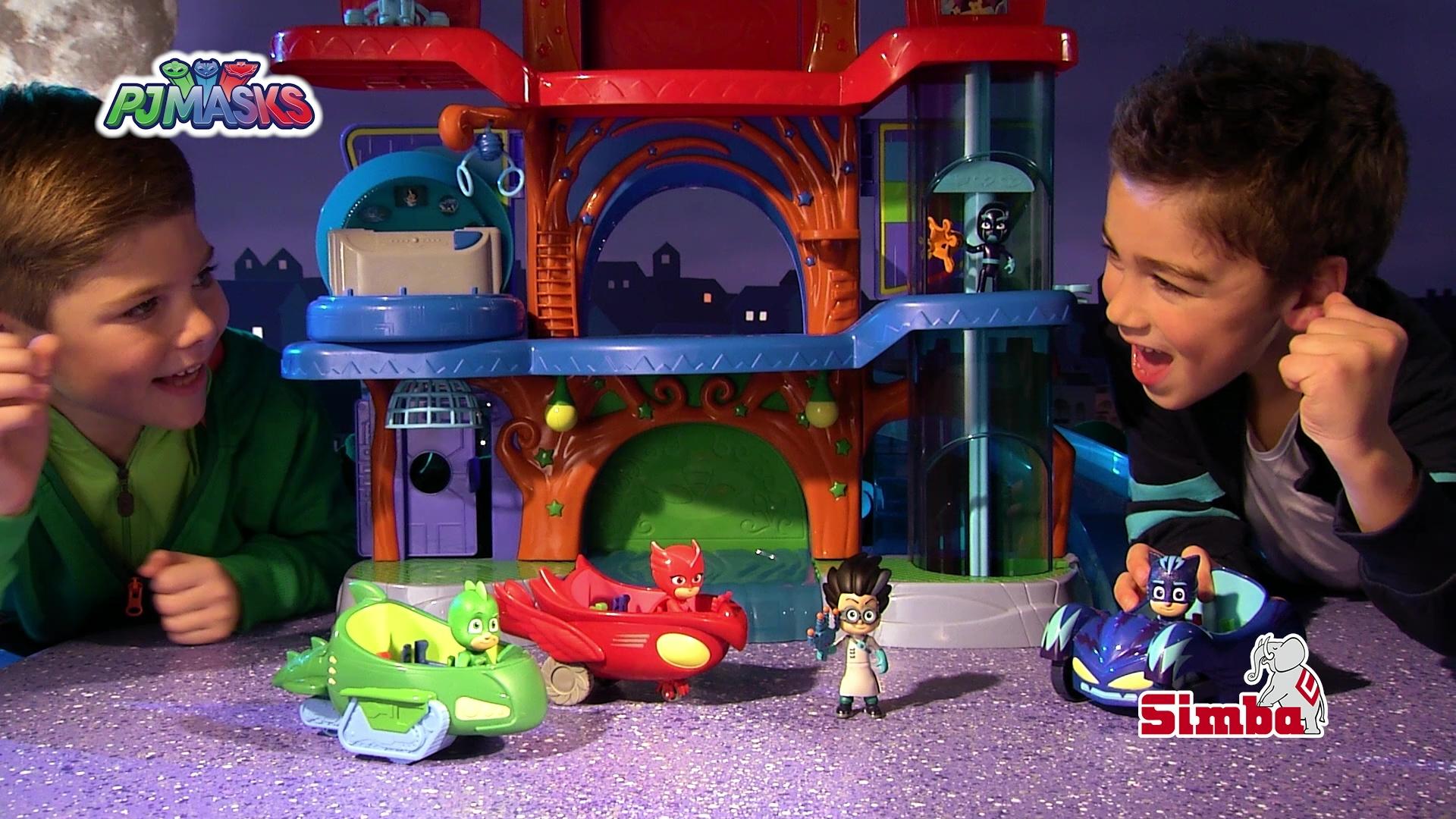 Pj Masks Hauptquartier Spielset Simba Toys Video Simba Dickie Com